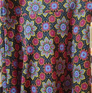 NWT XL Azure skirt from Lularoe
